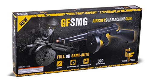 Game Face Airsoft Machine Gun