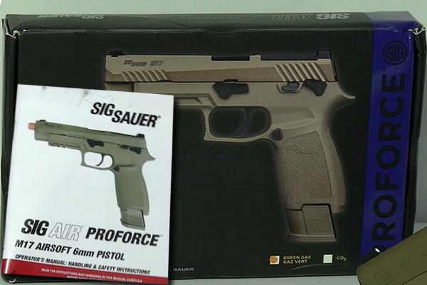 Sig Sauer ProForce M17 Review
