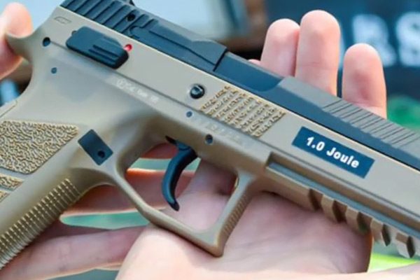 ASG CZ P 09 Airsoft Pistol Review