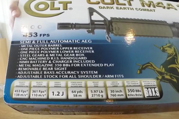 Colt M4A1 CQBR features