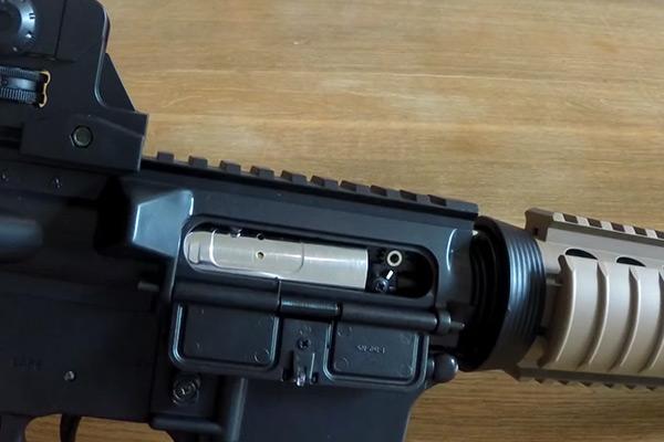 Colt M4A1 CQBR hopup adjustment