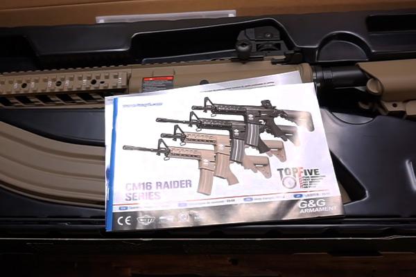 G&G CM16 Rifle Manual