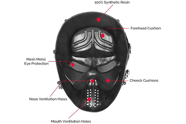 OutdoorMaster Full Face Airsoft Mask Review