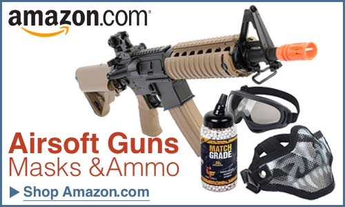 Shop Amazon For Airsoft Gear