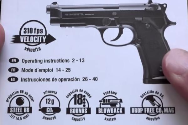 Umarex Beretta M92 A1 Manual