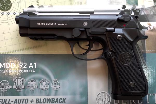 Umarex Beretta M92 A1 Review