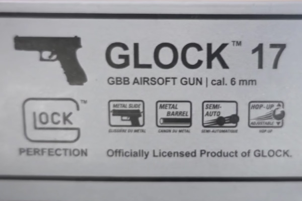 Umarex Glock 17 4th Gen Package Details