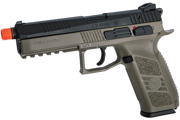 asg cz p-09 co2 airsoft pistol review