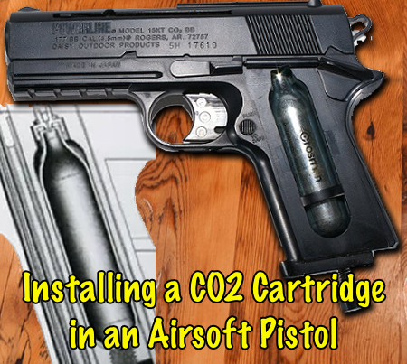 How To Put A CO2 Cartridge In An Airsoft Pistol?