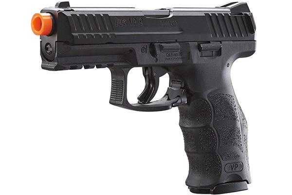 umarex h_k vp9 airsoft blowback pistol review