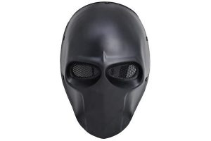 Airsoft Black Skull Mask