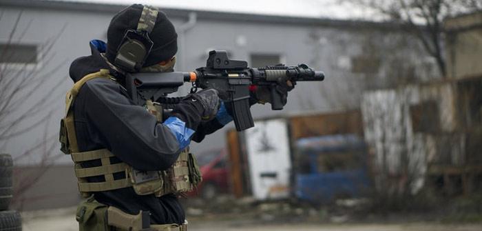 How far can an airsoft gun shoot accurately