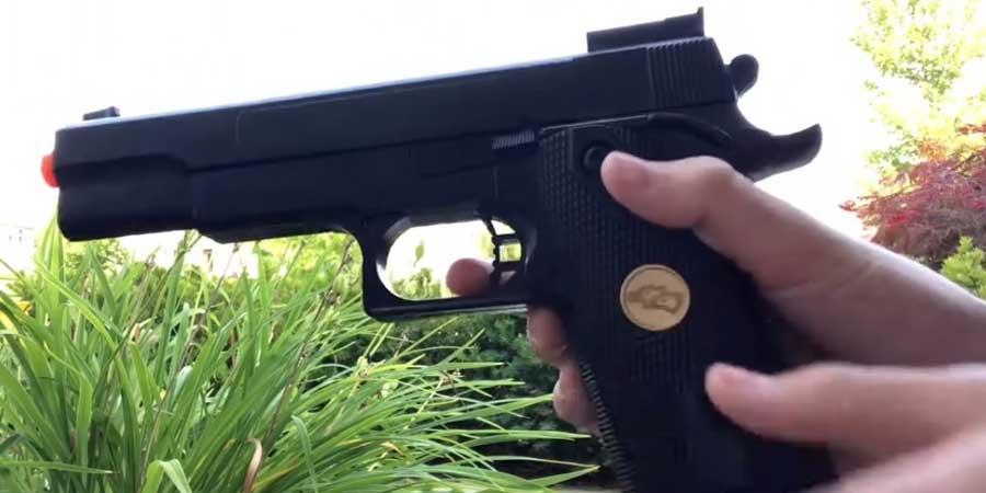 BBTac Airsoft FPS Spring Gun Durability
