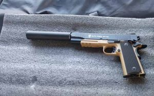 Elite Force 1911 Blowback 6mm BB Pistol FI