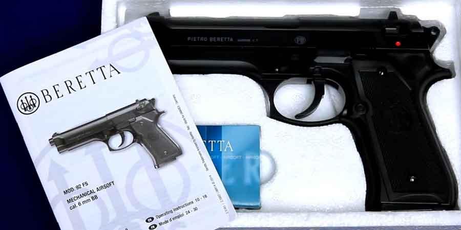 Elite Force Beretta 92 FS 6mm BB Pistol Airsoft