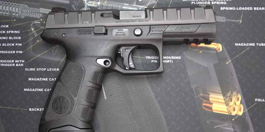 Beretta APX Blowback 6mm BB Pistol Airsoft Gun