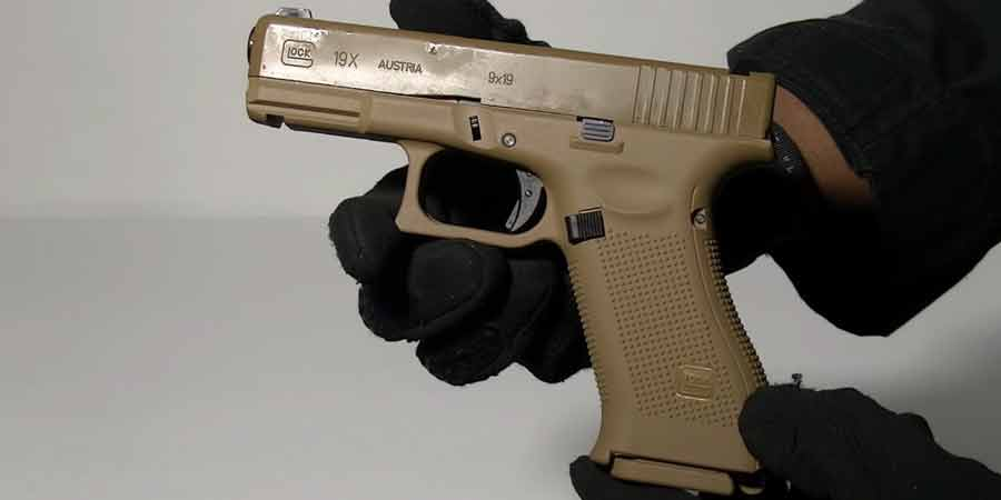 GLOCK 19X GBB Blowback 6mm BB Pistol Airsoft Gun