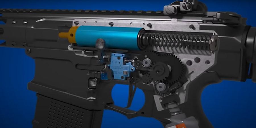 Where are G&P airsoft guns made?