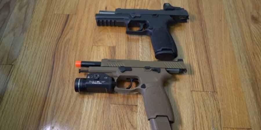 Sig Sauer SIG AIR ProForce M17 Gas Blowback Airsoft Pistol