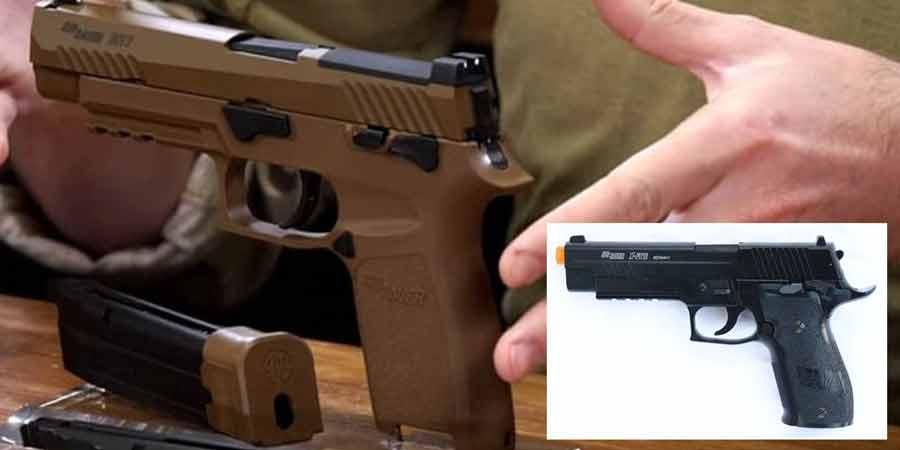 Sig Sauer SIG AIR ProForce M17 Gas Blowback Airsoft Pistol 05
