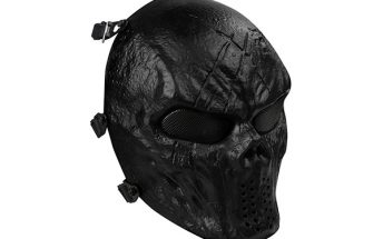 OutdoorMaster Full Face Airsoft Mask with Metal Mesh Eye Protection Review